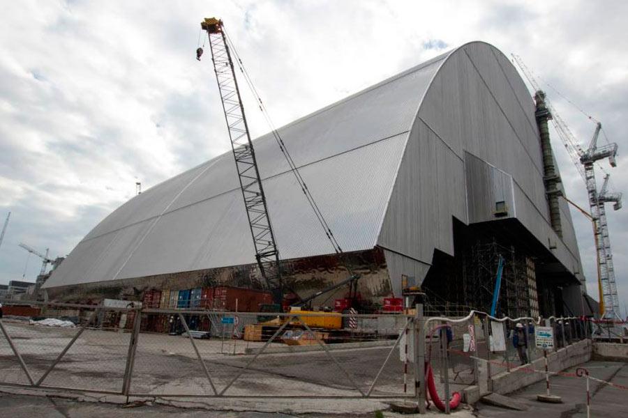 Nueva cubierta Chernobyl
