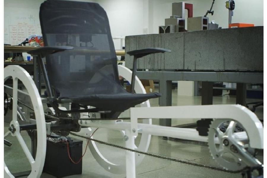 Inventos para ser más sostenibles; Bicicleta «Hans Free Electric™»